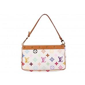 Louis Vuitton Multi Colour Monogram Pochette Tote Bag