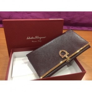 Salvatore Ferragamo Brown Wallet