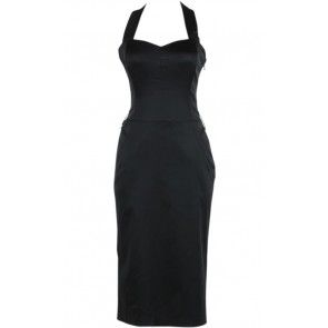 Black Halter Dress