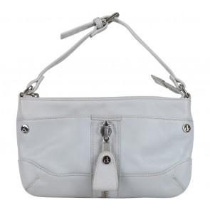 Calvin Klein Grey Zipper Clutch