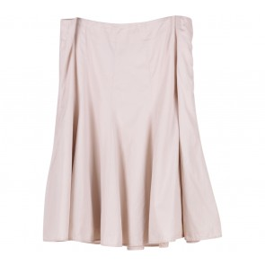 GAP Cream Flare Skirt