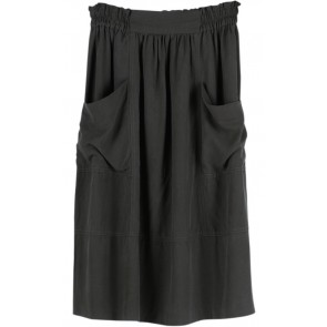 Green Midi Skirt