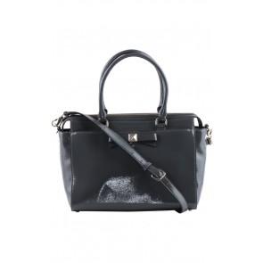 Kate Spade Grey Patent Hand Bag