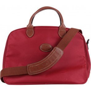 Longchamp Red Canvas Luggage and Travel