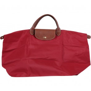 Longchamp Red Le Pliage Extra Large Handbag
