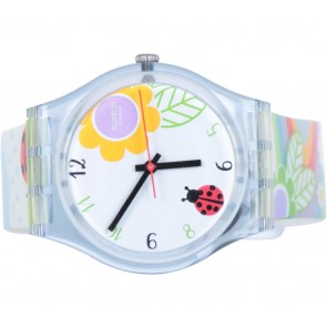 Swatch Floral Watch