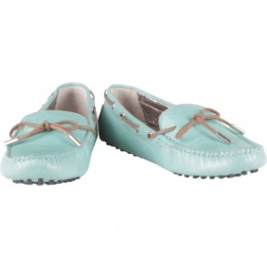 Staccato Turquoise Flats