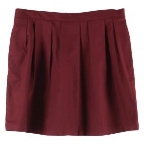 Stradivarius Maroon Skirt