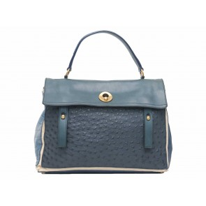Yves Saint Laurent Blue Shoulder Bag
