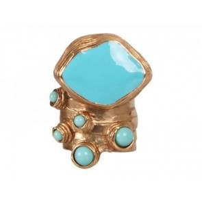 Yves Saint Laurent Turquoise Jewellery