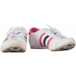 Adidas White Aditrack Sneakers