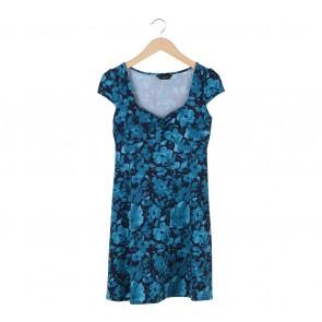 Dorothy Perkins Blue Floral Mini Dress