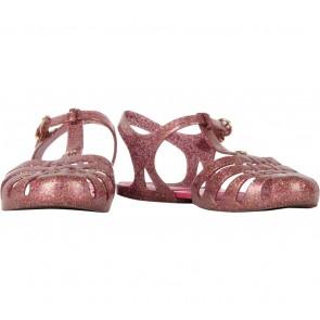 Melissa Pink Glittery Aranha Hits Sandals