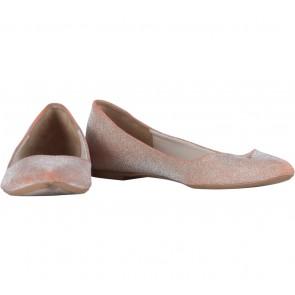 Zara Brown Glittery Flats