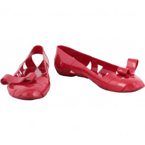 Moschino Red Flats