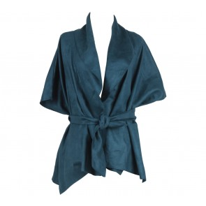 The Hartz Blue Tied Outerwear