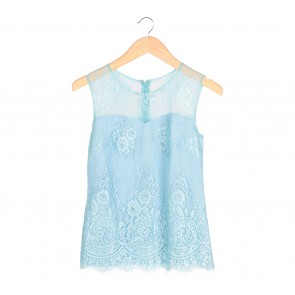 Namayinda Blue Lace Sleeveless