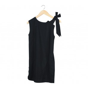Day and Night Black Slit Sleeveless