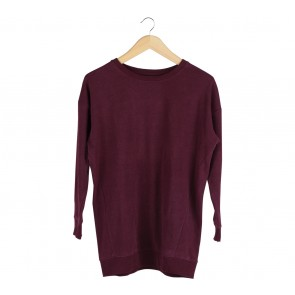 Divided Purple Sweater