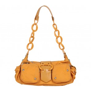 Francesco Biasia Orange Shoulder Bag