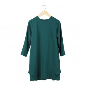 Geulis Green Mini Dress