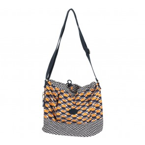 Kipling Dark Blue And Orange Sling Bag