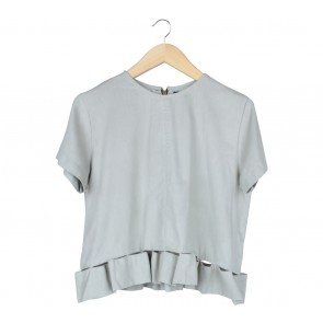 Label Eight Grey Blouse