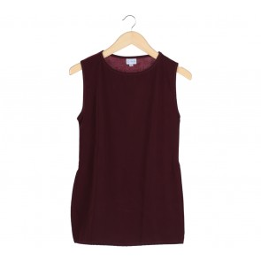 G+NA Maroon Sleeveless