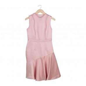 Sissae Pink Mini Dress
