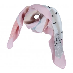 Pink Small Scarf