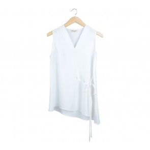 Ponytale Off White Blouse