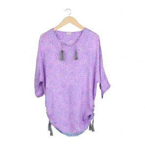 Kaetnik Purple Blouse