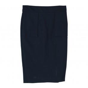 Zara Dark Blue Midi Skirt