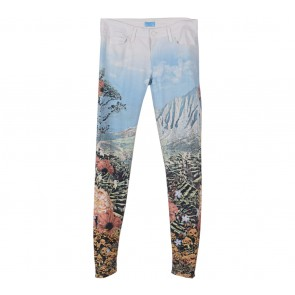 Mother Denim Multi Colour Scenery Pants