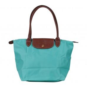Longchamp Blue Le Pliage Medium Tote Bag