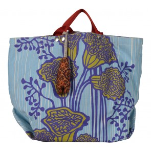 Tulisan Multi Colour Floral Tote Bag