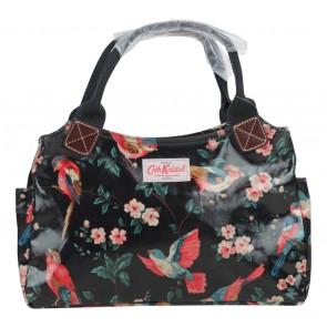 Cath Kidston Black Floral Handbag