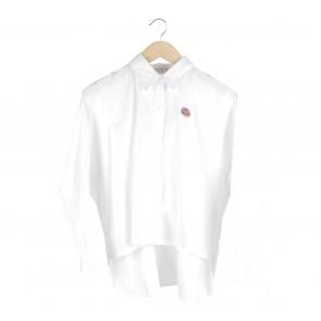 Cotton Ink White Donut Halsey Shirt
