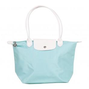 Longchamp Turquoise Medium Tote Bag