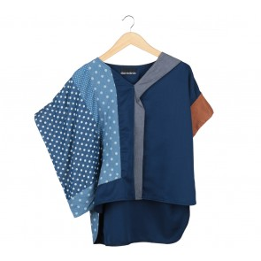 Oline Workrobe Multi Colour Polka Dot Blouse