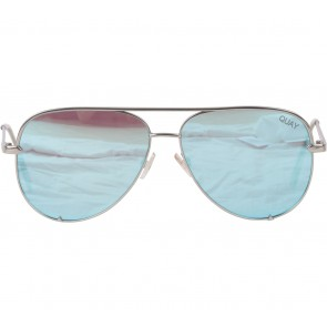 Quay Australia Blue And Silver Sunglasses