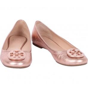 Tory Burch  Rose Gold Reva Ballet Flats