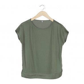 UNIQLO Green Blouse