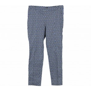 H&M Blue And Black Patterned Pants