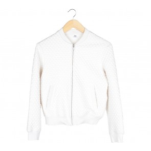 UNIQLO Off White Textured Jaket