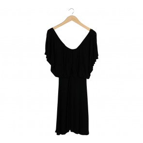 Sportsgirl Black Midi Dress