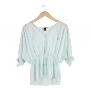 Forever 21 Tosca See Thru Blouse