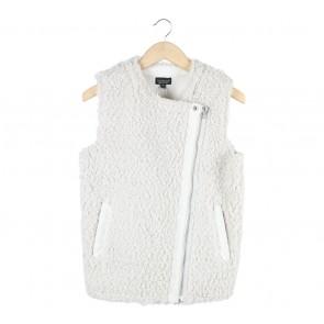 Topshop Off White Coat