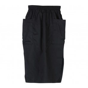 ATS The Label Black Slit Skirt