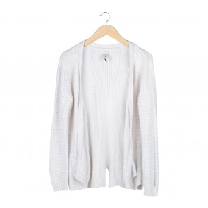 Pull & Bear Off White Outerwear